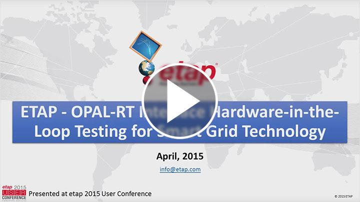ETAP - OPAL-RT Interface