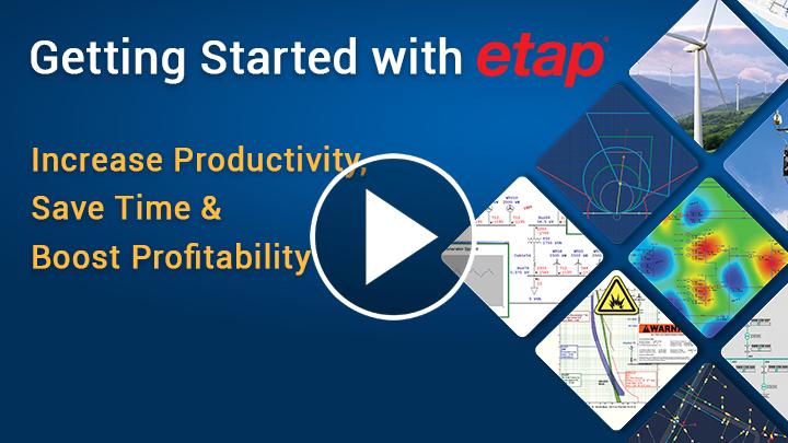 Начало работы с ETAP