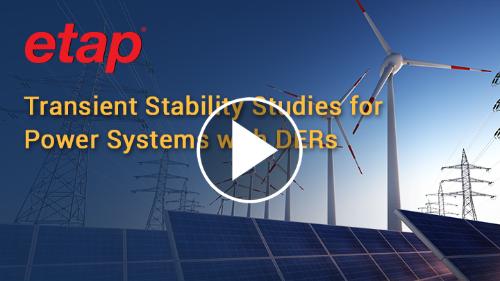 Stability Studies for Power Systems with DERs