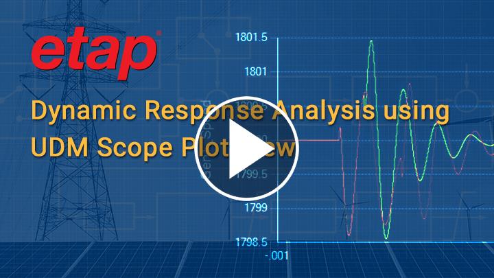 Dynamic Response Analysis using UDM Scope Plot View