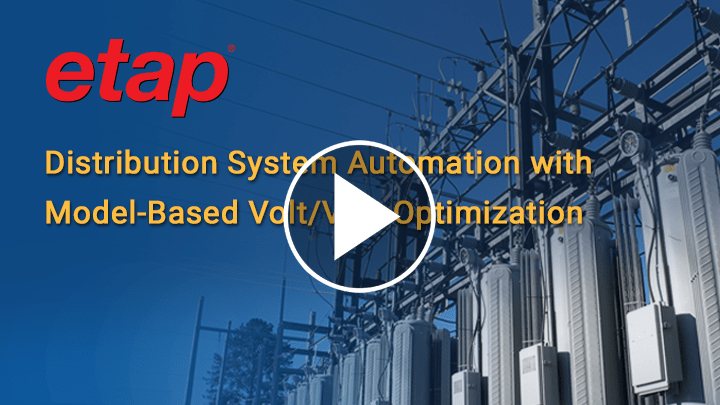 Distribution Automation with Model-Based Volt/Var Optimization (VVO)